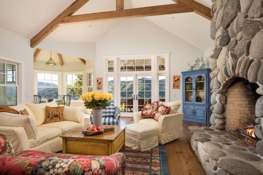 23 Spectacular Cottage Living Room Ideas