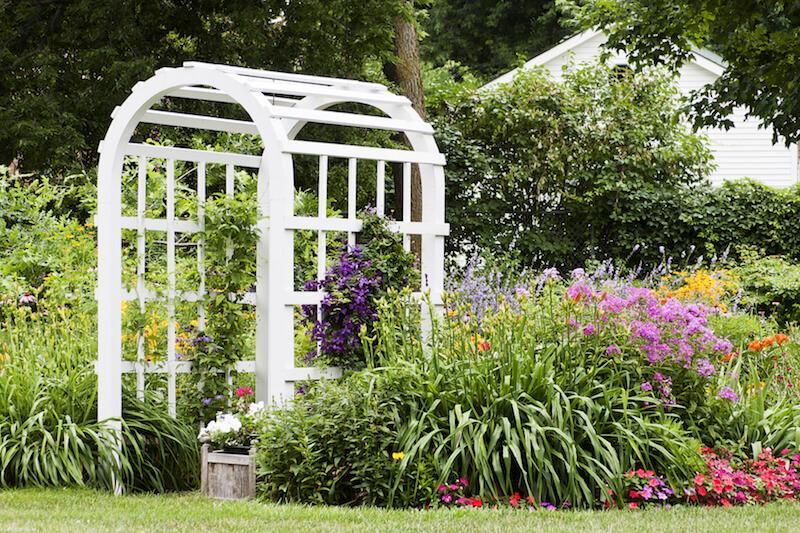 31 Backyard Arbor Designs and Ideas - garden arbor plans designs