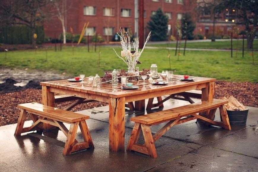 31 Alluring Picnic Table Ideas