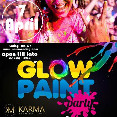 Glow and Paint Party - Free entry tickets for all B4 11pm Tickets