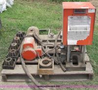 Gates PC707 hydraulic hose crimping machine and ...