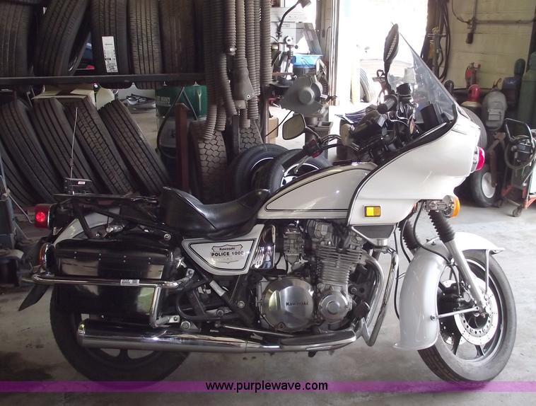 1999 Kawasaki KZ1000 Police motorcycle Item 5539 SOLD! J