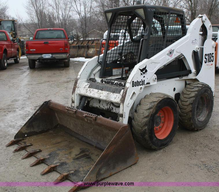 2003 Bobcat S185 skid steer Item A6983 SOLD! March 15 Co