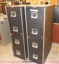 (2) Victor Fire Master LX file cabinets