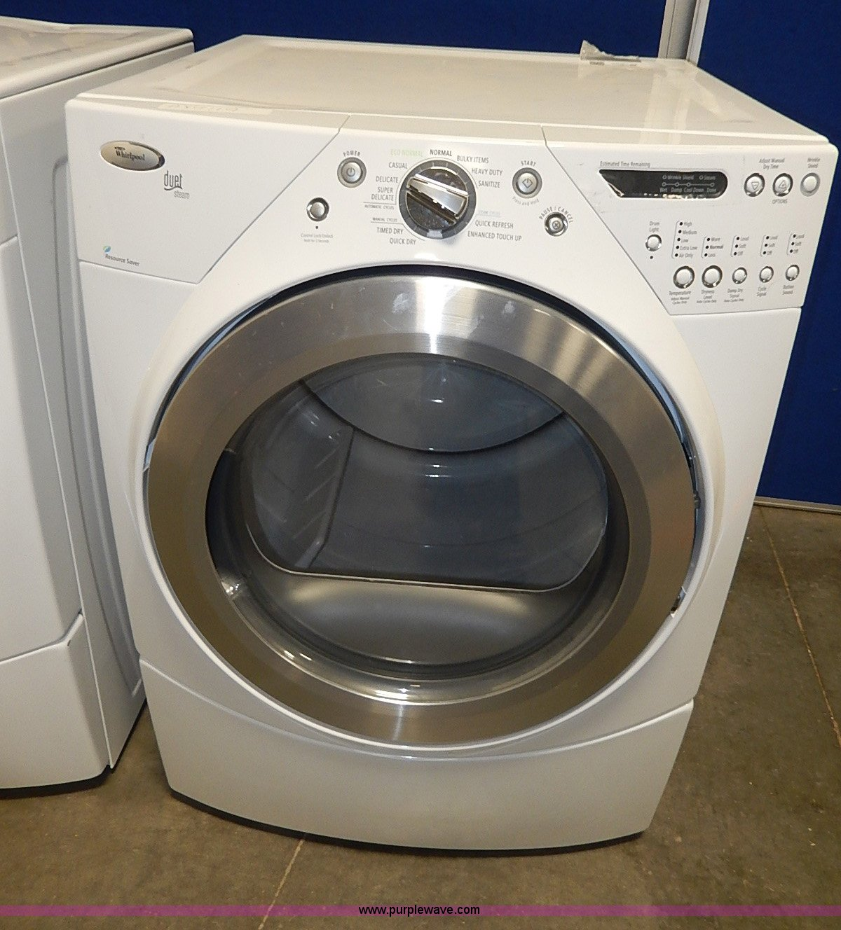 Whirlpool Duet Front Load Washer And Dryer Set Item - Whirlpool Steam Dryer