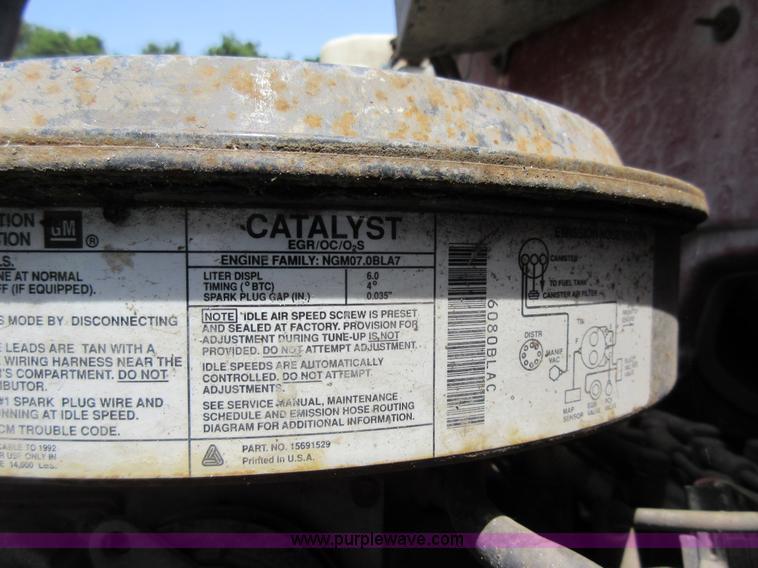 1992 Chevrolet Kodiak dump truck Item AV9495 SOLD! July