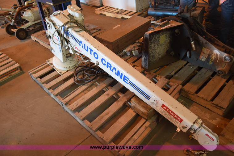 Auto Crane 2703 truck mounted crane Item BF9858 SOLD! Ju
