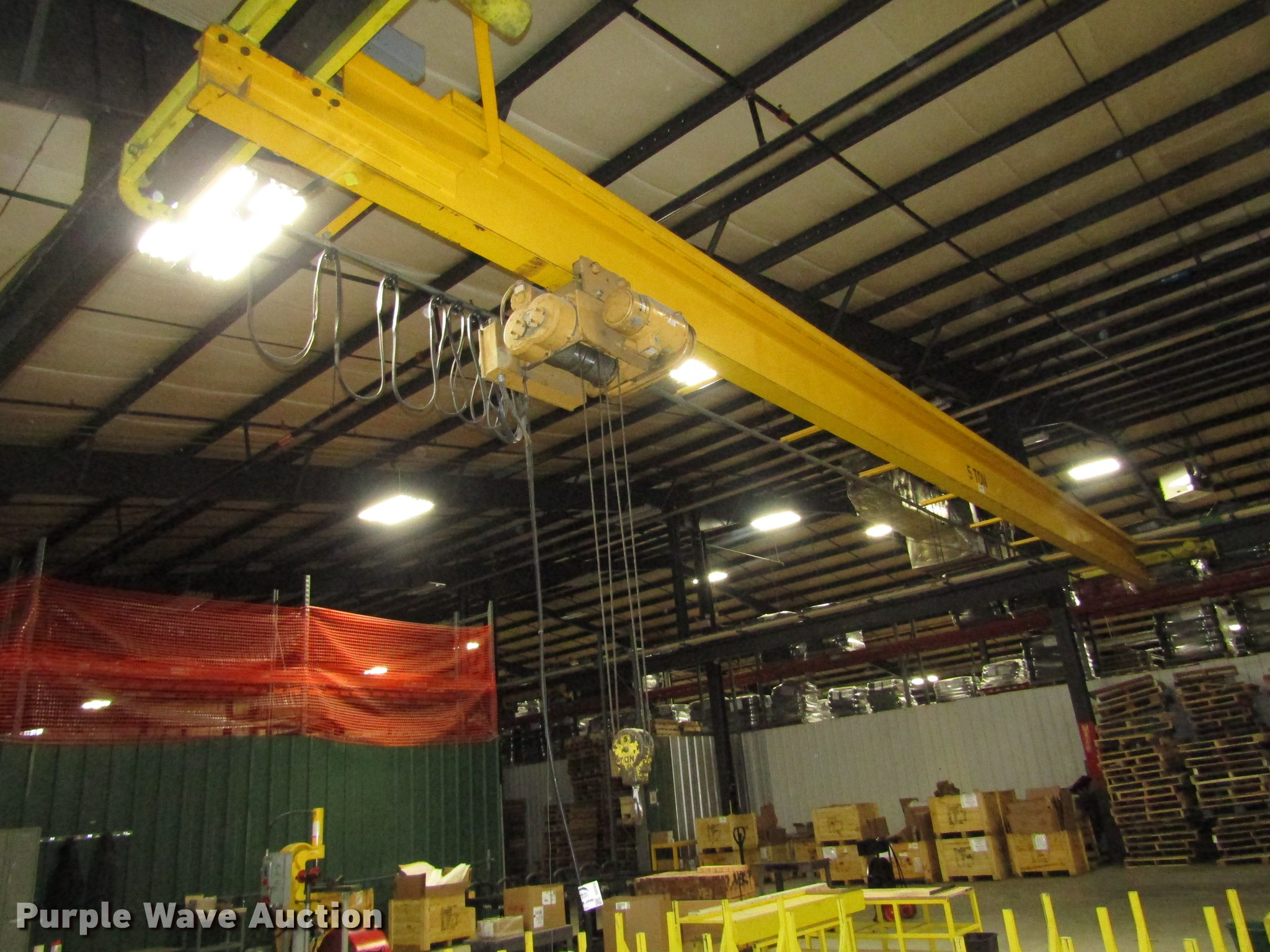 Warehouse For Sale Detroit Detroit Hoist Overhead Crane Item Dd2934 Sold March 7 V