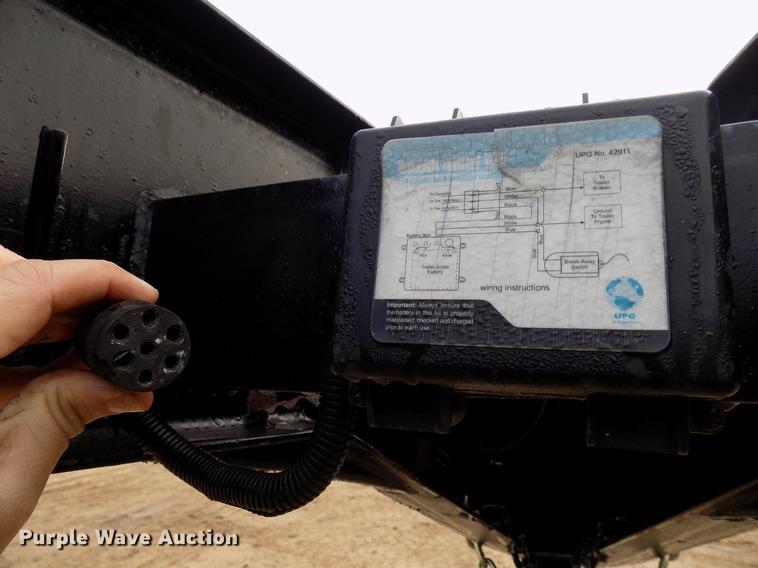2013 Big Tex equipment trailer Item DD3577 Thursday Febr