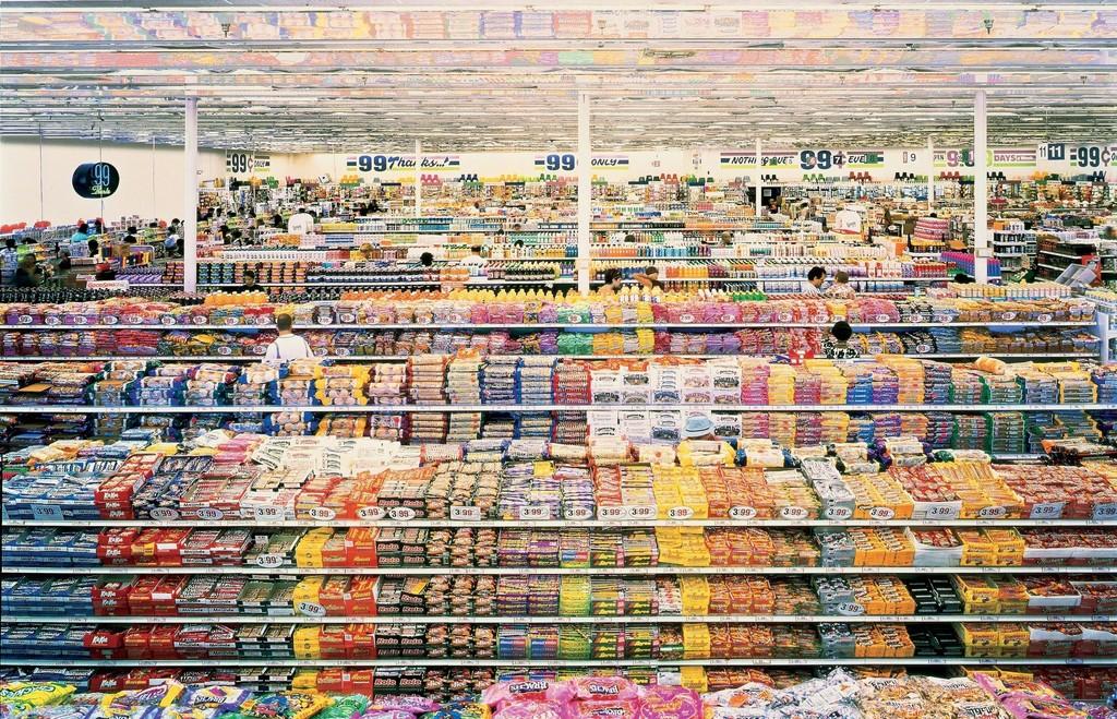 Andreas Gursky 99 Cent 1999 Artsy