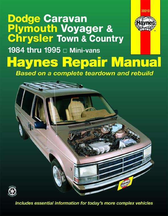 Voyager Haynes Manuals