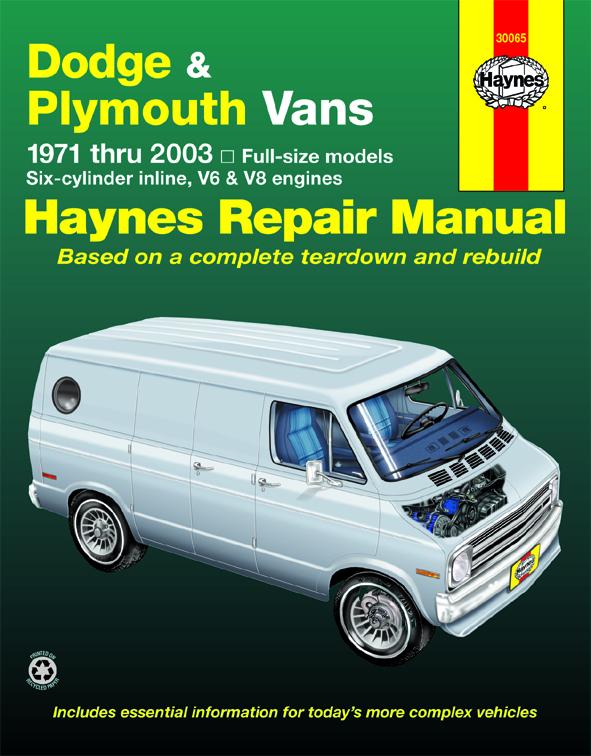 B300 Van Haynes Manuals