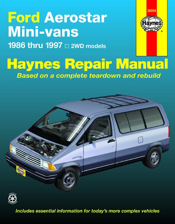Aerostar Haynes Manuals