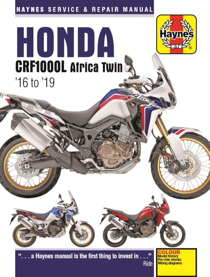CRF1000A2 Adventure Sport Haynes Manuals