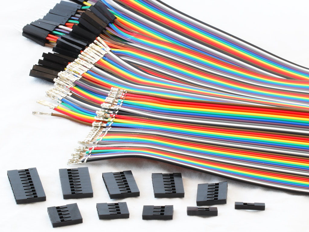 Startkabels Gamma Ribbon Cables And Dupont Connectors Protostack