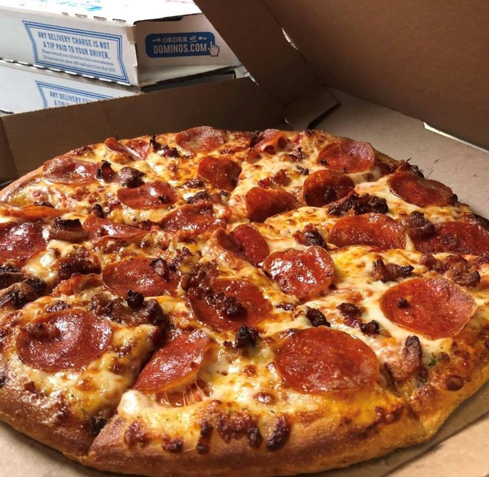 Dominos Domino S Knocks 50 Percent Off All Online Pizza Orders Pmq