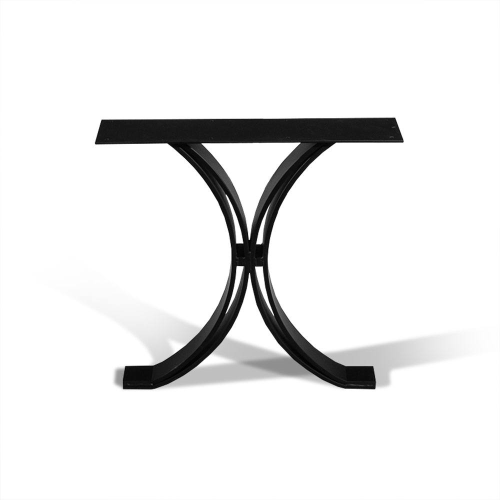 Metal Table Wood Slab Table Base Metal Base For Wood Table