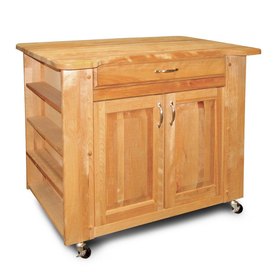 Chopping Block Kitchen Island Movable Kitchen Islands Rolling On Wheels Mobile