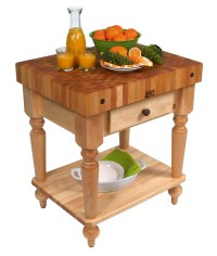 John Boos Butcher Block Tables - Kitchen & Dining