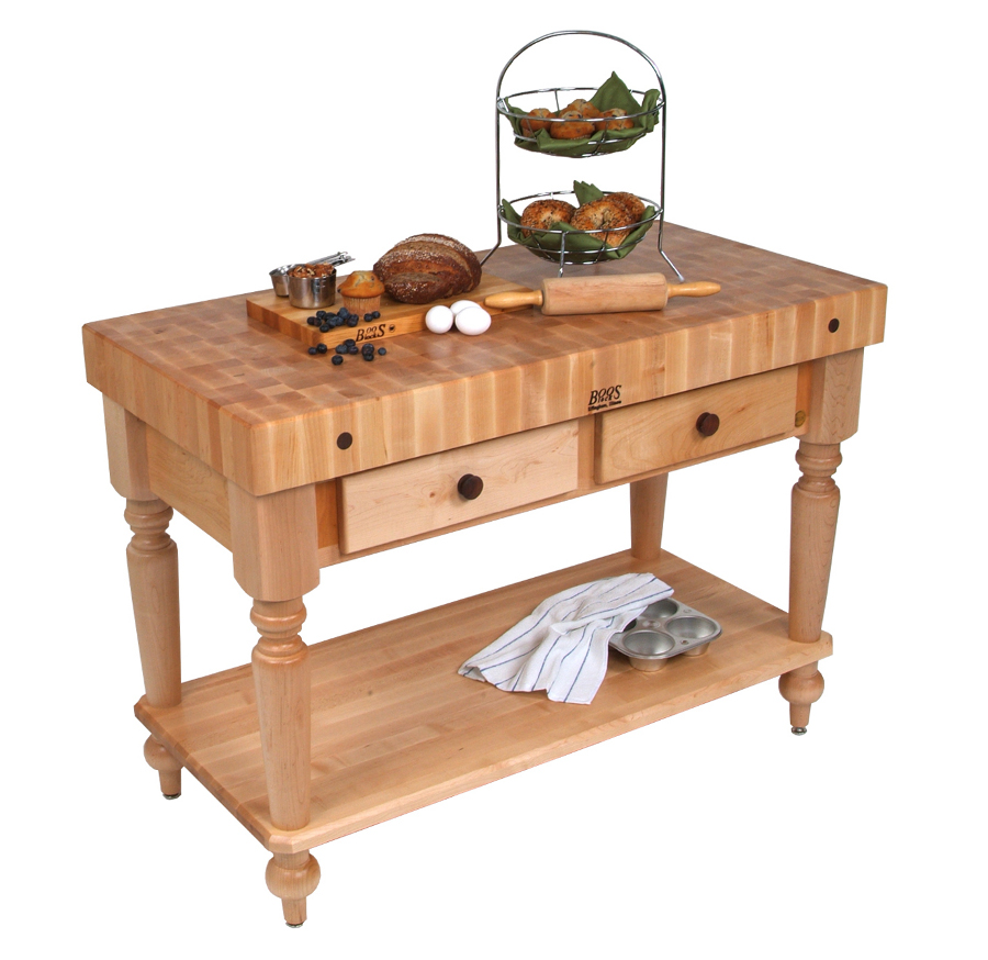 Cucina Rustica Prices John Boos Cucina Rustica Butcher Block Table W Shelf