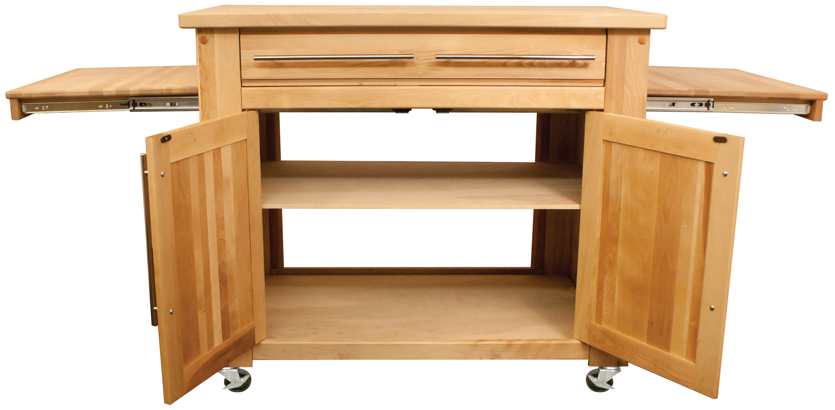 Chopping Block Kitchen Island Catskill Empire Kitchen Island Pull Out Leaves