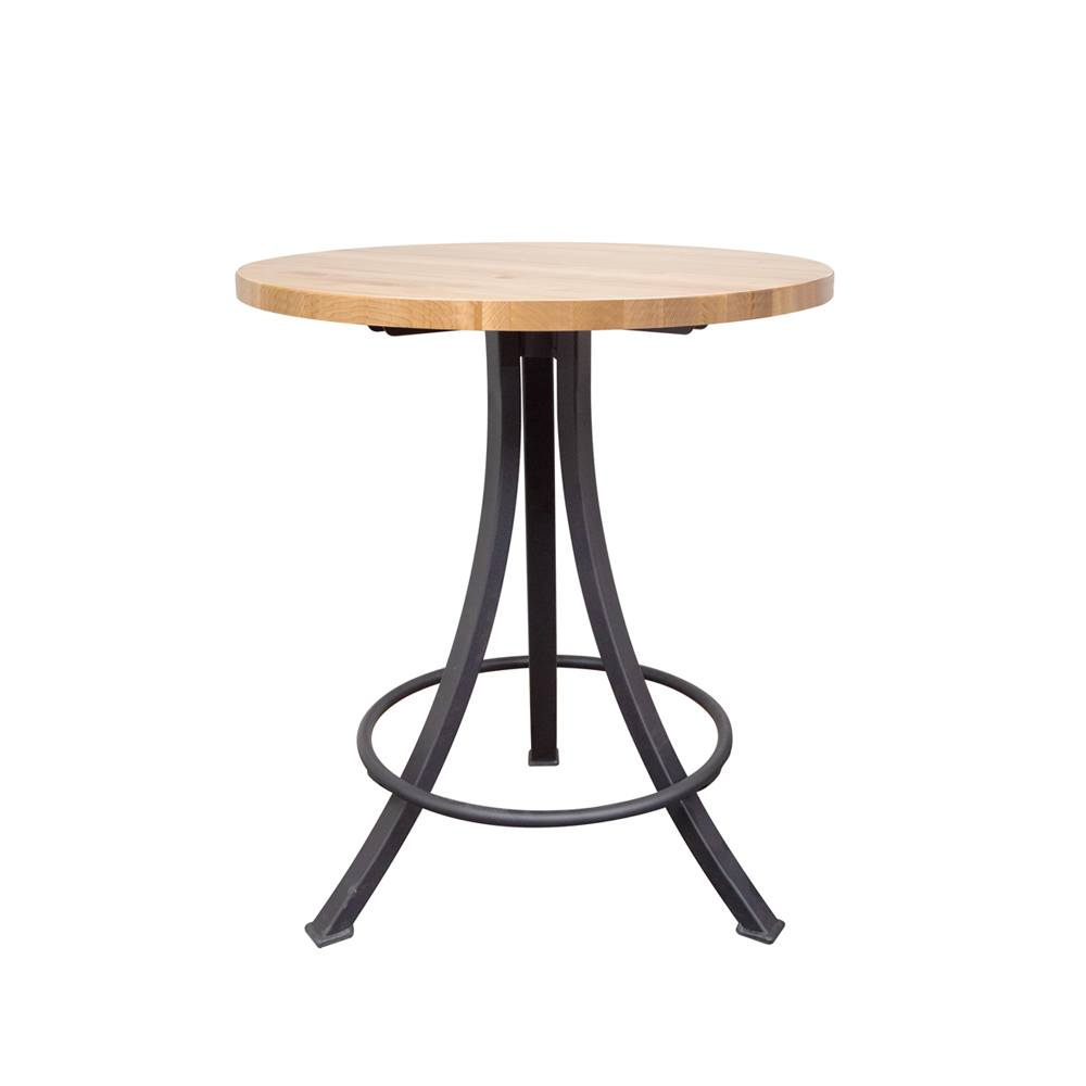 Maple Round Bar Height Table Bar Tables And Stools