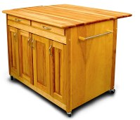 Movable Kitchen Islands | Rolling on Wheels | Mobile