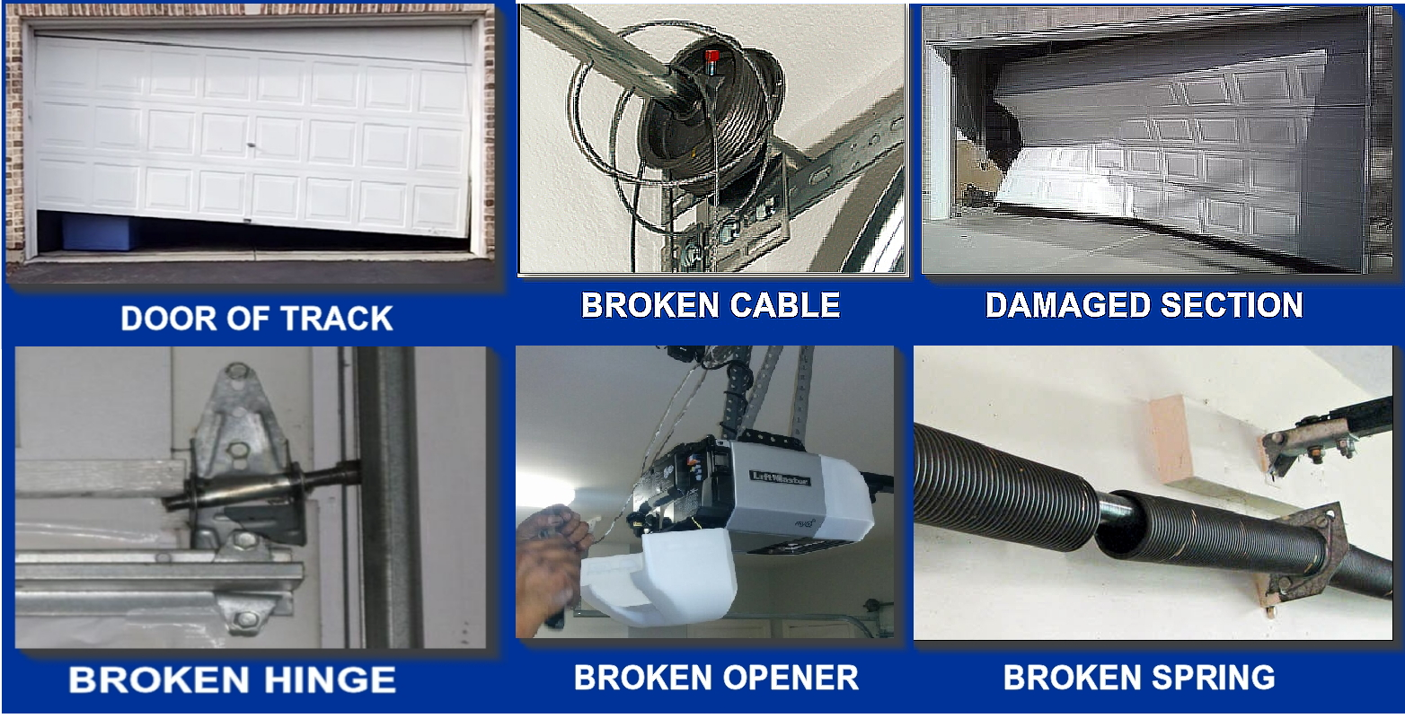 Garage Door Parts Near My Location Service Request