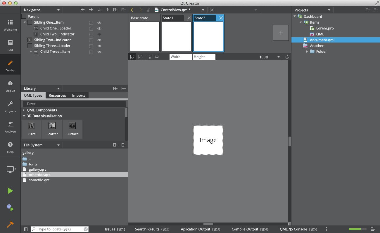 Design Papierkorb Qt Creator Flat Style Ui Design + New Light Theme - Qt Blog