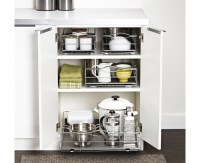 simplehuman | 20 inch pull-out cabinet organizer