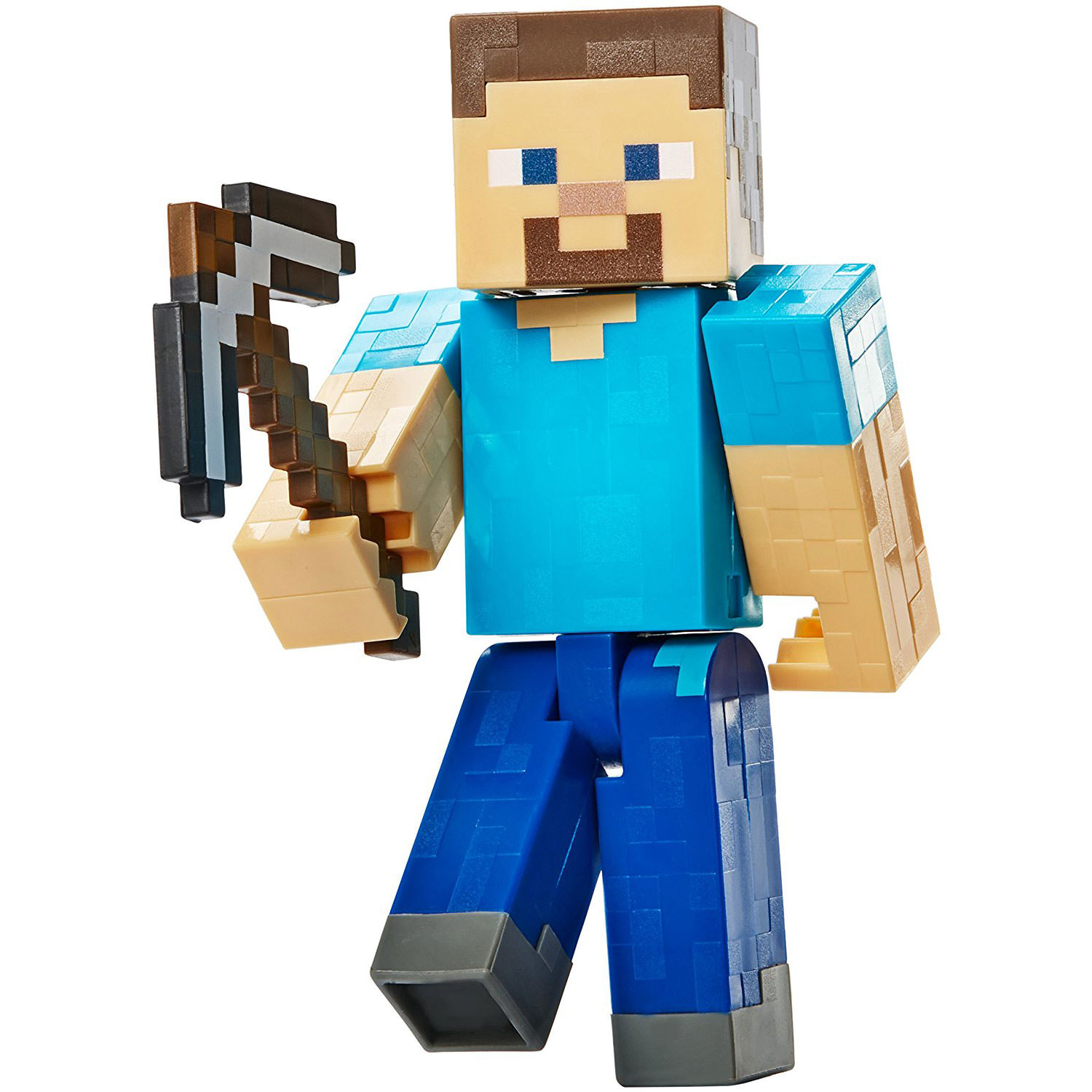 "Minecraft Mining Steve with Pickaxe 5"" Figure at Hobby"