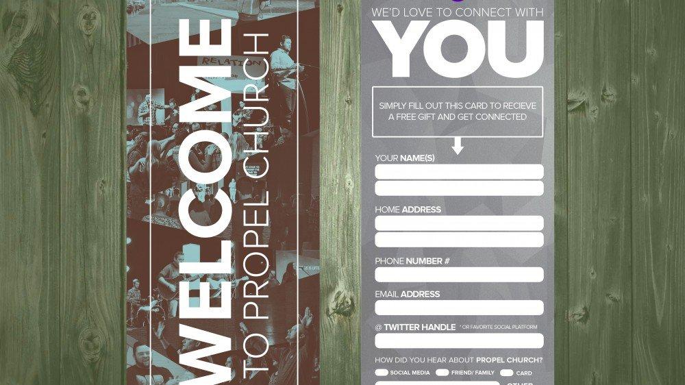 8 Church Connection Card Templates