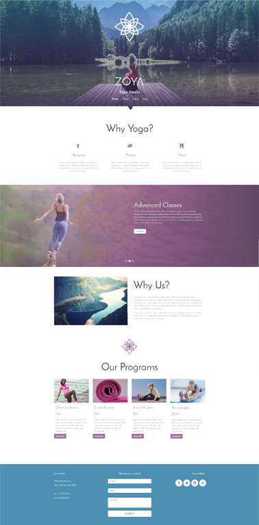 Bootstrap website templates Responsive Website Templates - template