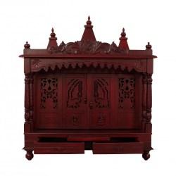 Sevan Wood Home Temple With Door Online Shopping 120414_2987