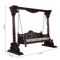 Home Decor Furniture Indian Traditional Jhoola - 100113 ...