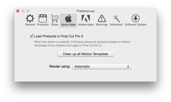 Clean Up Motion Templates for Final Cut Pro X - FxFactory Knowledge Base