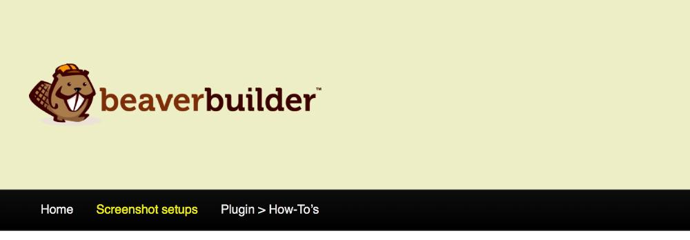 Customizer settings The Header tab - Beaver Builder Knowledge Base