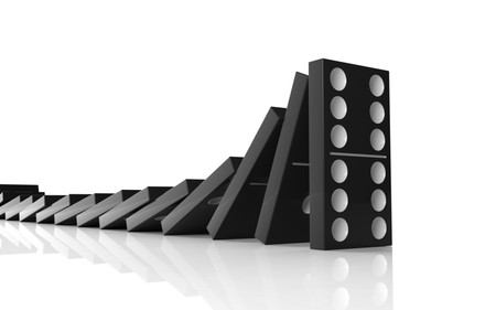 domino effect Armstrong Economics