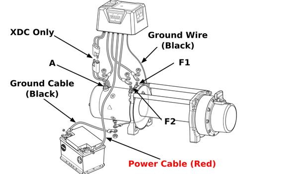 warn winch control wiring diagram wiring diagram