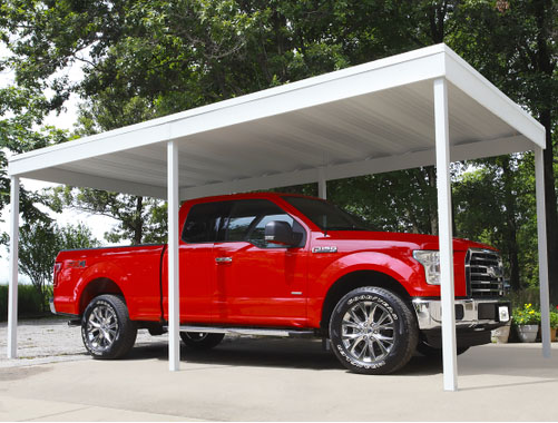 Patio Covers And Carport Kits Fixed Aluminum And