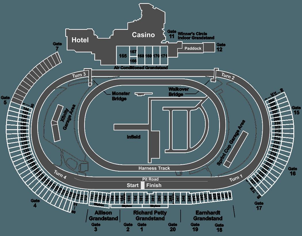 bristol motor speedway seating chart