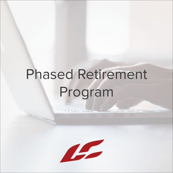 Phased Retirement Program Operations Human Resources Free - retirement program