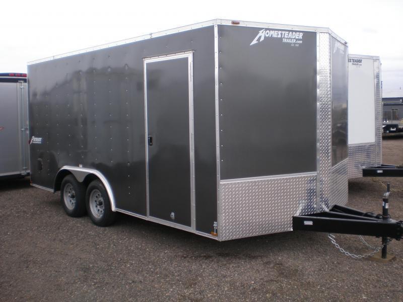 2019 Homesteader 8x16 Enclosed V-Nose Cargo Trailer Trailers in