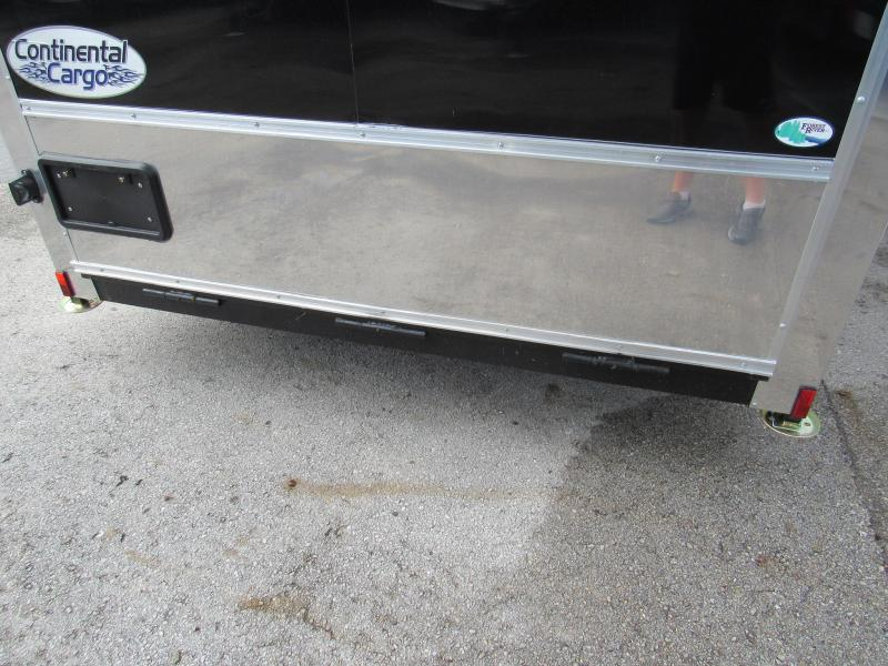 2019 Continental Cargo 7x14 Finished Motorcycle Trailer FB Trailer