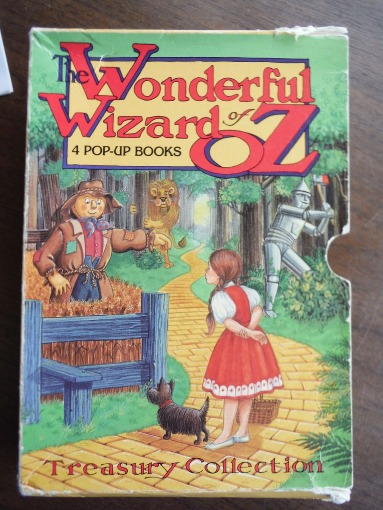 Pop Up Book Cover The Wonderful Wizard Of Oz Pop Up Books By L Frank Baum First Edition 1991 06 01 From Imperial Books And Collectibles And Biblio Au