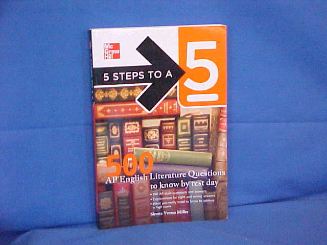 5 Steps To A 5 500 Ap English Literature Questions To Know