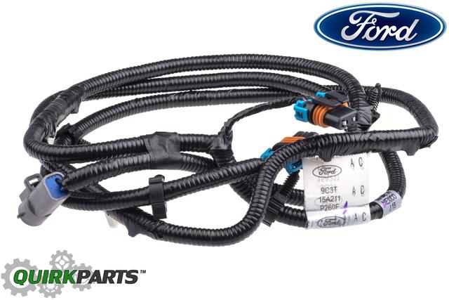 2008-2010 Ford F250 F350 F450 F550 Super Duty Fog Light Lamp Wire