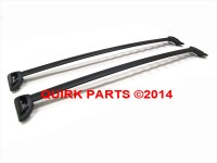 Chevy GMC Black Roof Rack Cross Bars / Rails Package OEM ...