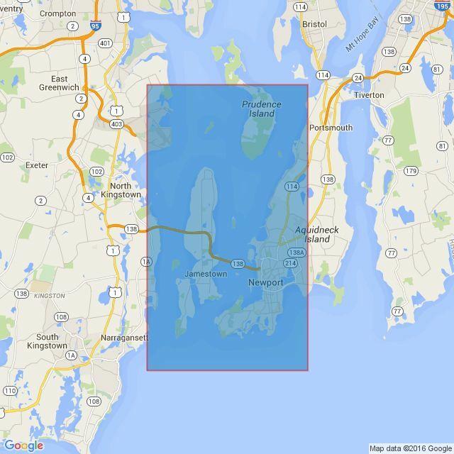 2730 Narragansett Bay including Newport Harbor Admiralty Chart only