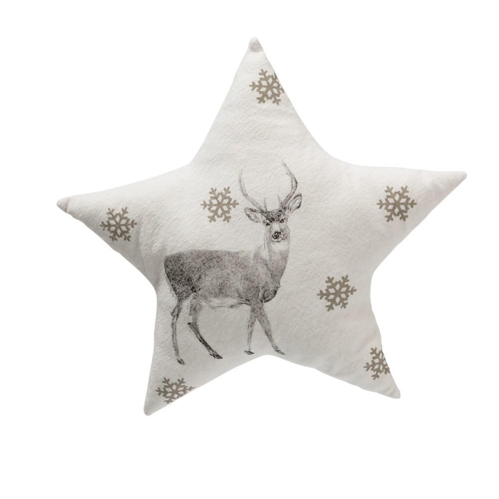 Kissen Set Kissen Set 3 Tlg Grey Stars
